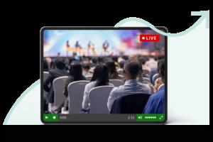 Livestreaming für Unternehmen