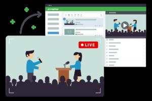 Webcast live streamen und On-Demand speichern