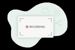 Videos und Bildschirm aufnehmen, hochladen und teilen