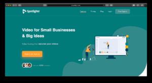Spotlightr: kostenloses Video-Hosting