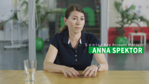 Anna Spektor, key account manager and video expert