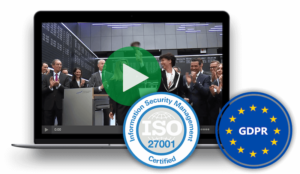 movingimage video CMS security: GDPR and ISO