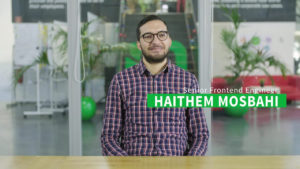 Frontend Engineer and video expert at movingimage, Haithem Mosbahi