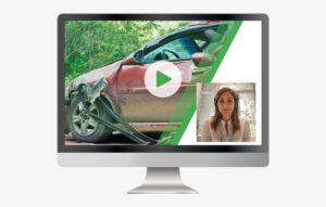Customer rep using video for support and maintenance to speed-up an insurance claim