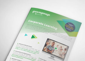 Corporate learning flyer