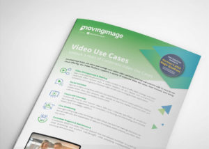 Video use cases flyer