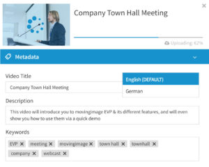 Meta tags for company town hall meeting